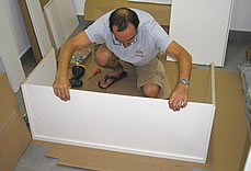 IKEA Furniture assembly service: Bob at work